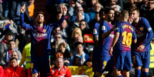 Real Madrid - FC Barcelone: le Barça de Lionel Messi sort vainqueur d'un match