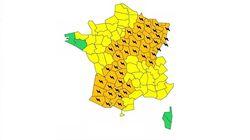 38 départements en vigilance orange aux orages violents et