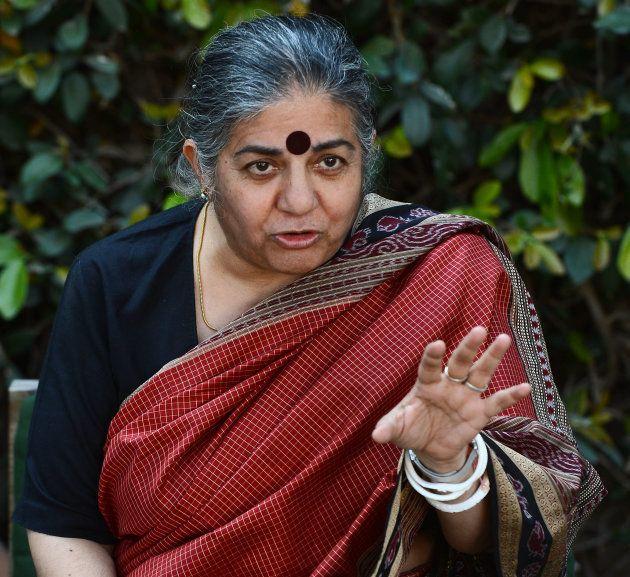 Vandana Shiva milite contre