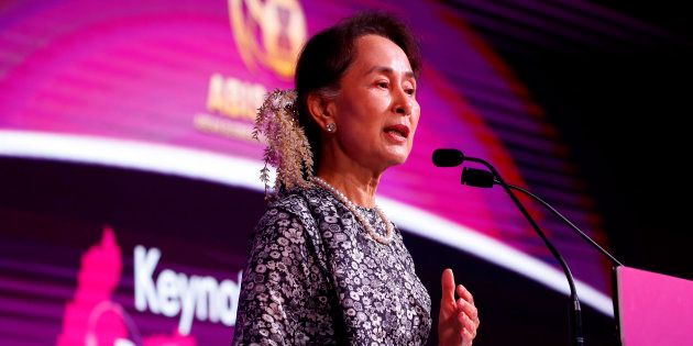 Aung San Suu Kyi déchue d'un prix par Amnesty International (photo
