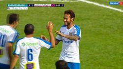 Neymar marque un but incroyable pendant un match de charité au
