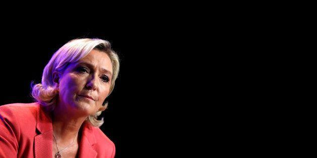 Marine Le Pen ne participera pas aux blocages du 17 novembre organisés par le gilets jaunes. (photo