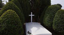 La tombe du maréchal Pétain