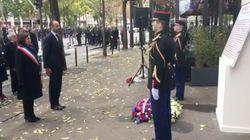 Les images des hommages aux victimes sur les lieux des attentats du 13