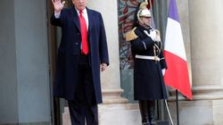 Occupation, vin, popularité... Trump se paye Macron sur