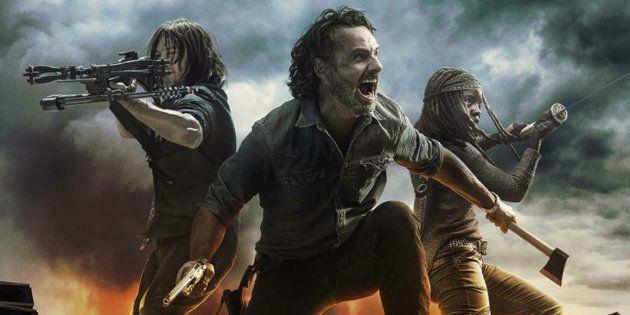 Daryl, Rick et Michonne... un personnage central
