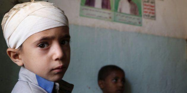 Mukhtar Hadi a survécu aux bombardements saoudiens qui ont tué des douzaines de civils dont des enfants....