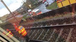 Une collision avec un train sur un passage à niveau à Lorient fait un