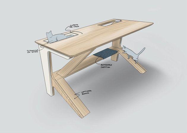 Ce bureau est spécialement conçu pour les maîtres et leur
