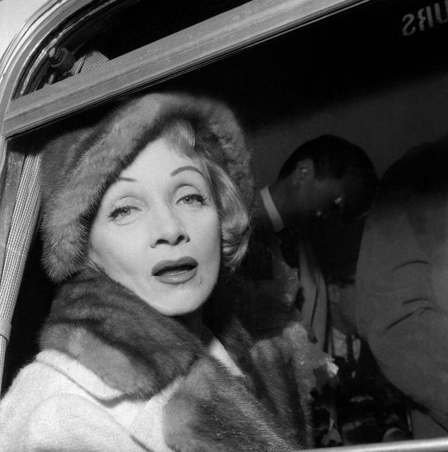 Marlene Dietrich célébrée par Google pour son