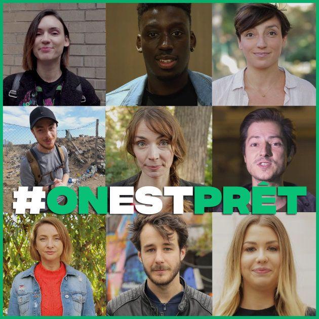 La campagne #onestprêt réuni 60 youtubeurs autour de l'écologie.