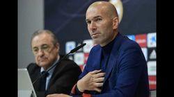 Les images de Zidane sous les applaudissements après l'annonce de son départ du