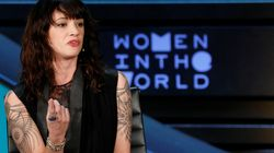 Asia Argento n'a pas apprécié cette blague de Charlie Hebdo sur Harvey