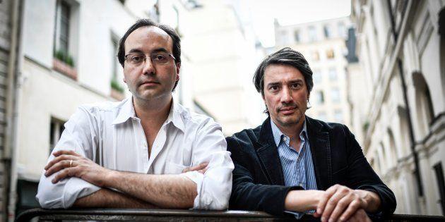 Jules et Gédéon Naudet (ici en mai à Paris) ont