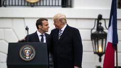 Macron répond à Trump que les taxes américaines sont