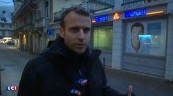 Sous la neige dans les Pyrénées, Macron confirme sa volonté de renforcer le contrôle des
