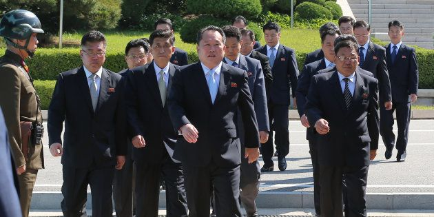 Le n°2 nord-coréen rencontre Trump pour lui remettre