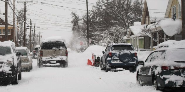 Dans la ville d'Erié en Pennsylvanie le 27 décembre