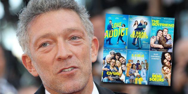 Vincent Cassel a dit tout le mal qu'il pense de l'uniformisation des affiches des comédies françaises...