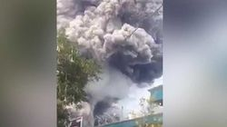 Les images de la spectaculaire éruption en