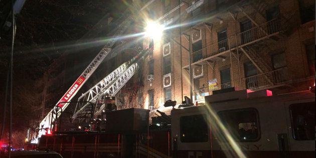 Un incendie à New York a fait au moins 12 morts ce 28 décembre