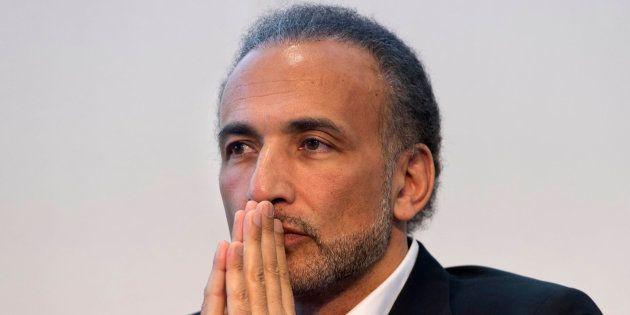 Tariq Ramadan lors du 31e salon du livre et de la presse de Genève le 30 avril