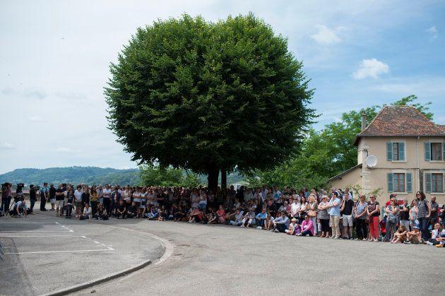 La foule impressionnante aux obsèques de