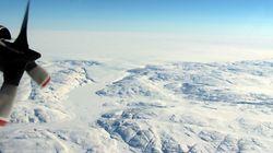 Un cratère plus grand que Paris découvert sous la glace du