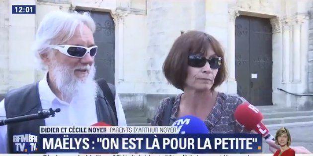 Obsèques de Maëlys: les parents d'Arthur Noyer