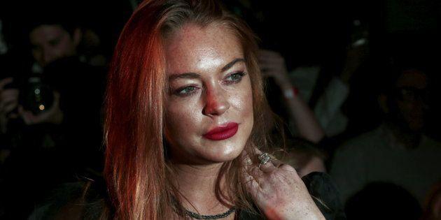 Lindsay Lohan à Londres en