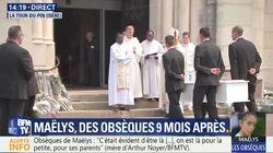 La poignante émotion à l'arrivée du cercueil de Maëlys avant ses