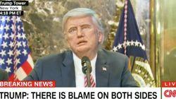 Il a remplacé le vrai Donald Trump par son robot et le résultat est hilarant (ou