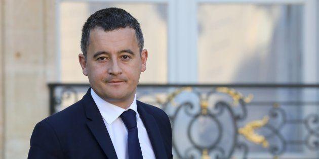 Gérald Darmanin à l'Élysée le 14 novembre
