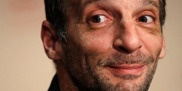 Mathieu Kassovitz au Festival de Cannes le 22 mai