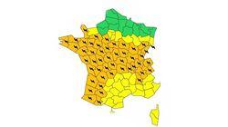 Les orages sont de retour, Météo France place 48 départements en vigilance