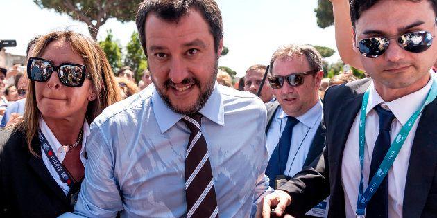 Matteo Salvini, le nouveau ministre de l'Intérieur italien donne le ton: