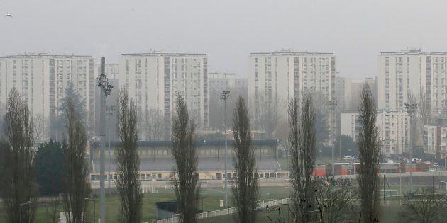 Des immeubles à Aulnay-Sous-Bois, près de Paris (Image