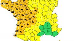 Tempête Carmen: 26 départements en vigilance