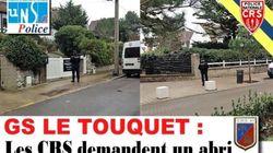 Un syndicat policier dénonce les conditions de travail des CRS devant la villa des Macron au