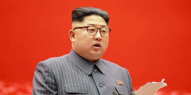 Kim Jong-Un à Pyongyang le 21 décembre