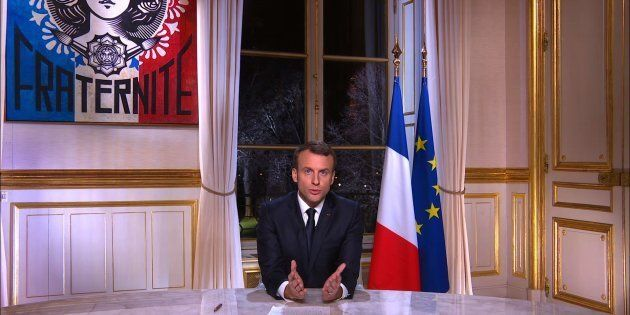 Les voeux de Macron, discours le plus suivi depuis son