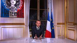 Les premiers vœux 2018 de Macron font moins d'audience que ceux de Sarkozy et