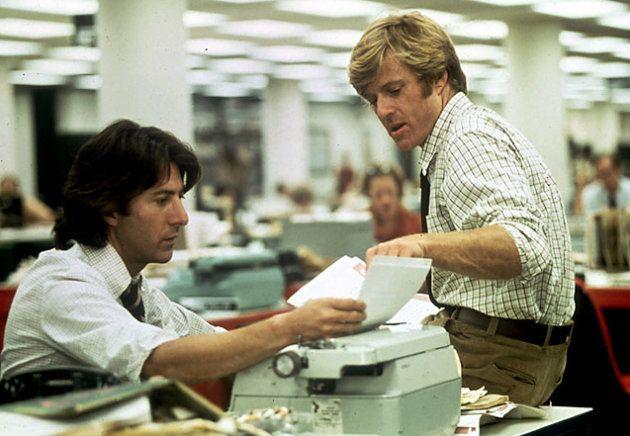 Dustin Hoffman et Robert Redford dans