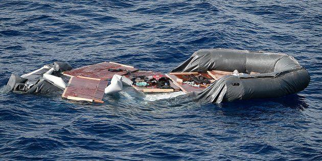 Une soixantaine de migrants sont morts noyés dans la Méditerranée ce week-end (photo prise le 8 mai 2018...