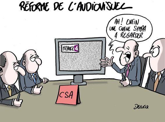 Le pouvoir du CSA après la réforme de l'audiovisuel public voulue par
