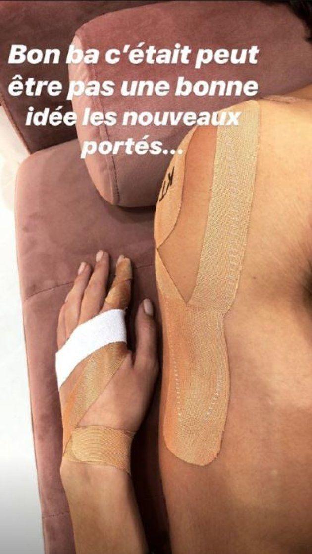 Iris Mittenaere et son partenaire Anthony Colette se sont blessés lors des répétitions de