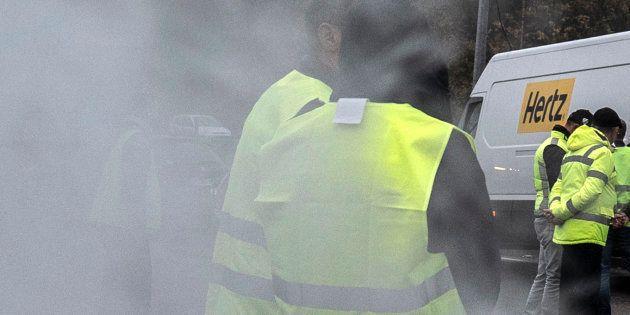 Lors de la mobilisation des gilets jaunes, une manifestante a été tuée samedi 17 novembre en Savoie,...