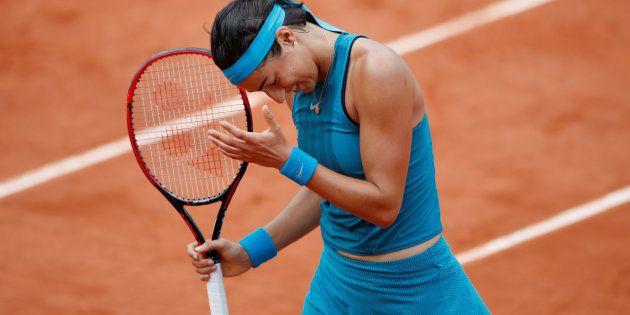 Roland-Garros: Caroline Garcia battue par Angelique Kerber, il n'y a plus de Français en