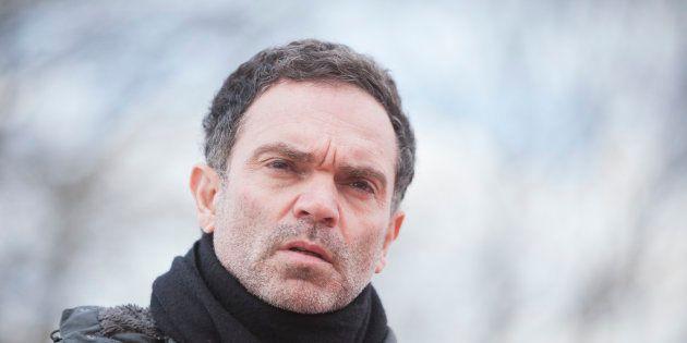 Yann Moix à Calais le 5 mars