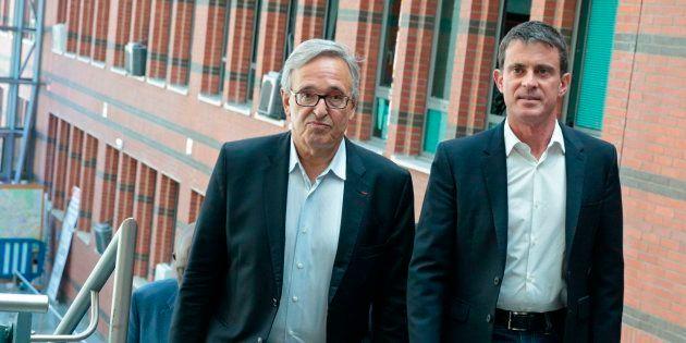 Successeur de Manuel Valls à la mairie d'Évry, Francis Chouat espère également remplacer son ami à l'Assemblée...